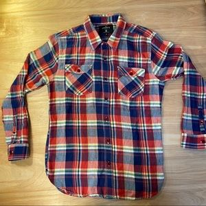 Freenote Cloth Flannel Shirt small Made In The USA
